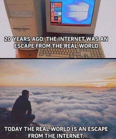 Internet=fake