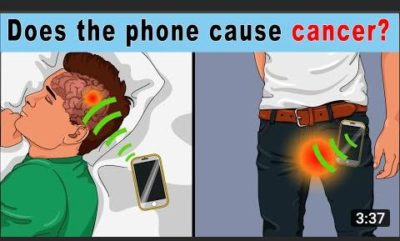 The phone causes cancer