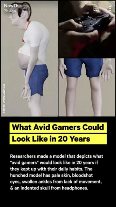 Gaming bad