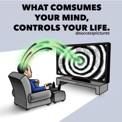 Watching tv means mind control