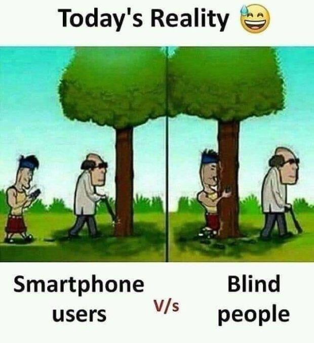 Today's Reality @ Smartphone Blind users W5 https://inspirational.ly