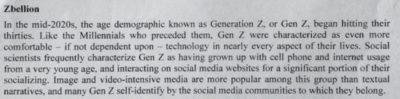 This is from an actual military wargame. Even in official documents old people can't stfu about phones, and make up pretend social scientists that agree with their viewpoint lmao