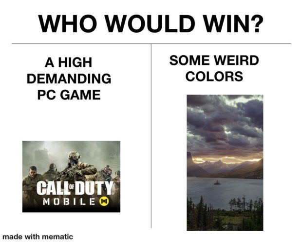WHO WOULD WIN? A HIGH SOME WEIRD DEMANDING COLORS PC GAME ' GAWIIIITW MOBILE 0 made https://inspirational.ly
