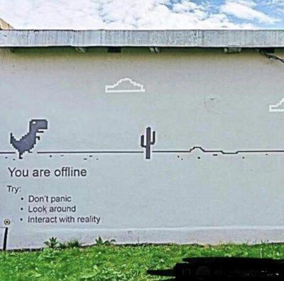 Internet bad!