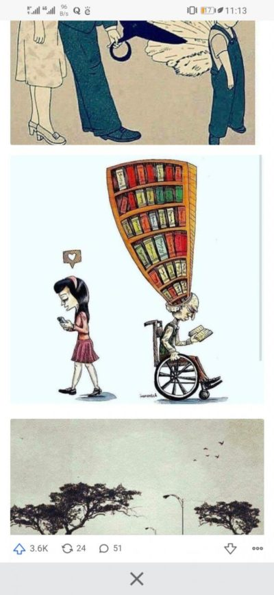 Why don't you have a library in your head?